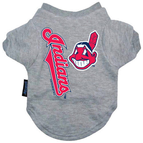 Cleveland Indians Dog Tee Shirt