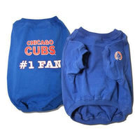 Chicago Cubs Dog Tee Shirt - Deluxe