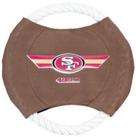San Francisco 49ers Dog Frisbee