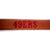San Francisco 49ers Leather Dog Leash