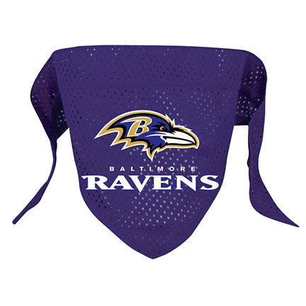 Baltimore Ravens Dog Bandanna