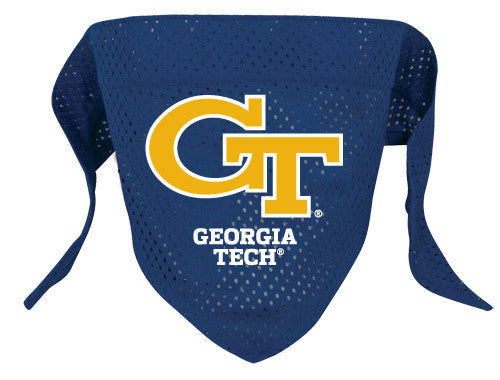 Georgia Tech Yellow Jackets Dog Bandana
