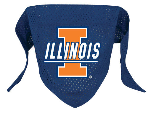 Illinois Fighting Illini Dog Bandana