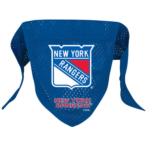New York Rangers Dog Bandana