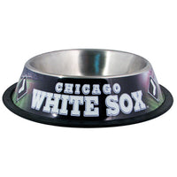 Chicago White Sox Dog Bowl-Stainless Steel