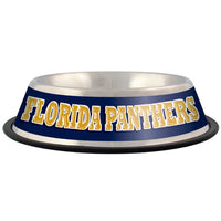 Florida Panthers Dog Bowl-Stainless Steel