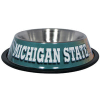 Michigan State Spartans Dog Bowl - Stainless Steel