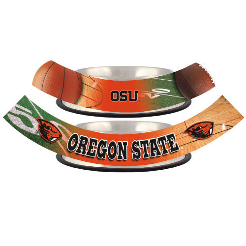 Oregon State Beavers Dog Bowl - Stainless Steel
