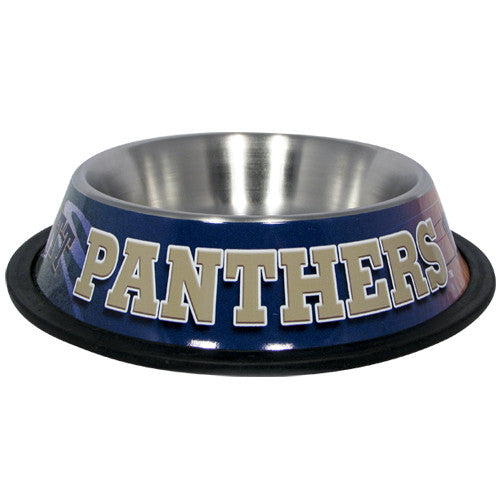 Pittsburgh Panthers Dog Bowl - Stainless Steel