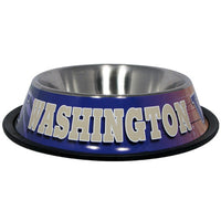 Washington Huskies Dog Bowl - Stainless Steel