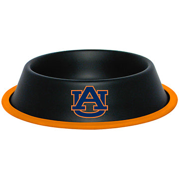 Auburn Tigers Dog Bowl - Stainless Steel