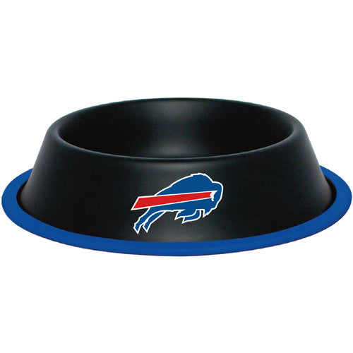 Buffalo Bills Dog Bowl-Stainless Steel