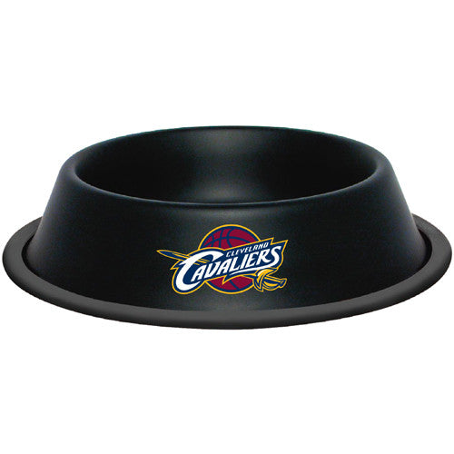 "Cleveland Cavaliers ""Cavs"" Dog Bowl-Stainless Steel"