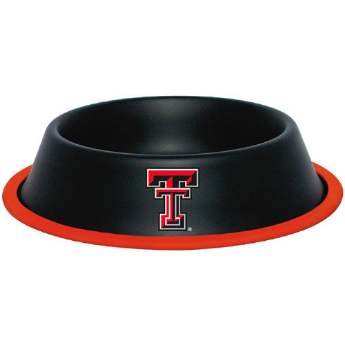 Texas Tech Red Raiders Dog Bowl - Stainless Steel
