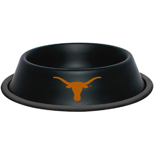 Texas Longhorns Dog Bowl - Stainless Steel