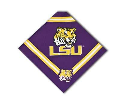 LSU Tigers Dog Bandana-Deluxe
