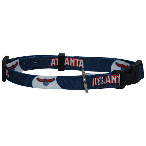 Atlanta Hawks Dog Collar