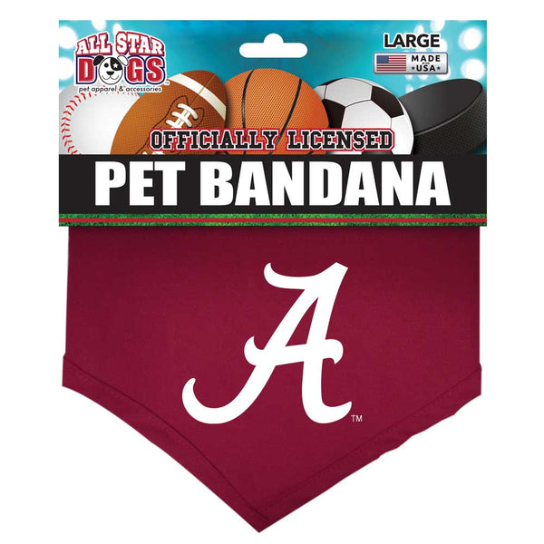 Alabama Crimson Tide Dog Bandanna