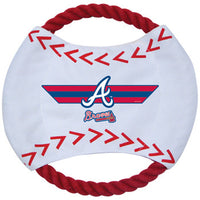Atlanta Braves Dog Frisbee