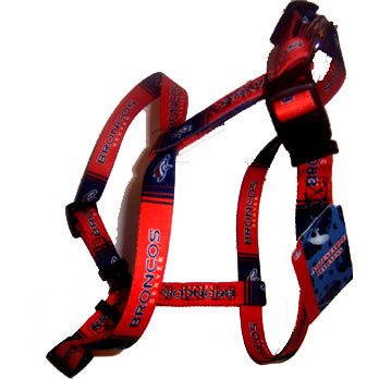 Denver Broncos Dog Harness