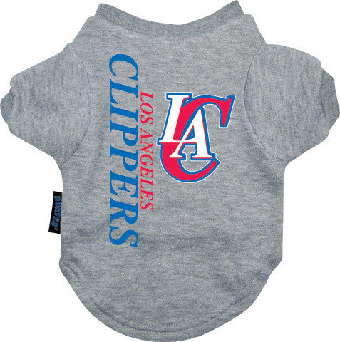 Los Angeles Clippers Dog Tee Shirt