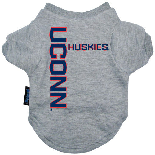 Connecticut Huskies UCONN Huskies Dog Tee Shirt