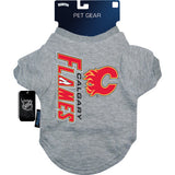 Calgary Flames Dog Tee Shirt