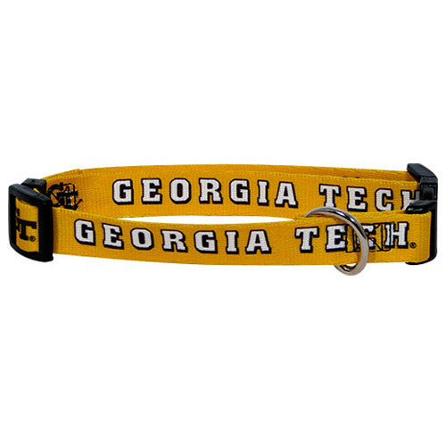 Georgia Tech Yellow Jackets Dog Collar