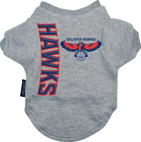 Atlanta Hawks Dog Tee Shirt