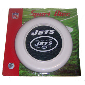 New York Jets Sports Disc Frisbee - Plastic