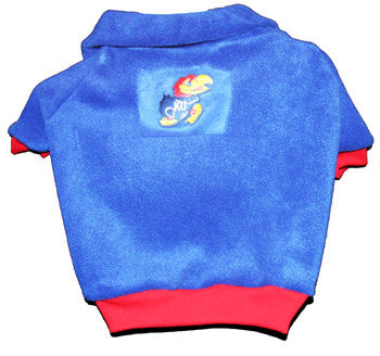 Kansas Jayhawks Dog Fleece Pullover