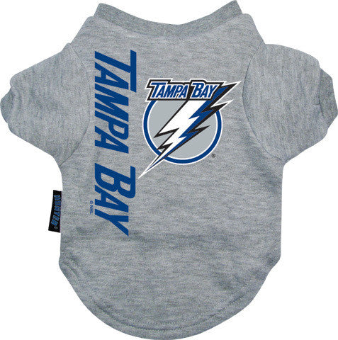 Tampa Bay Lightning Dog Tee Shirt