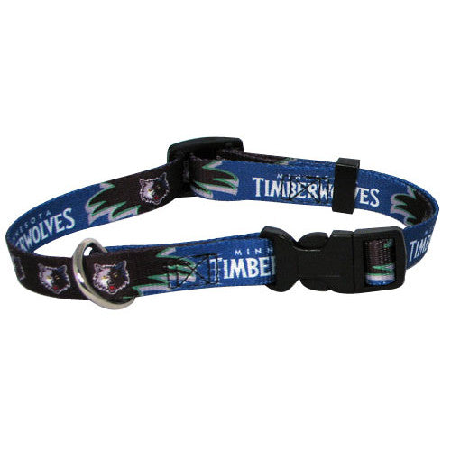 Minnesota Timberwolves Dog Collar