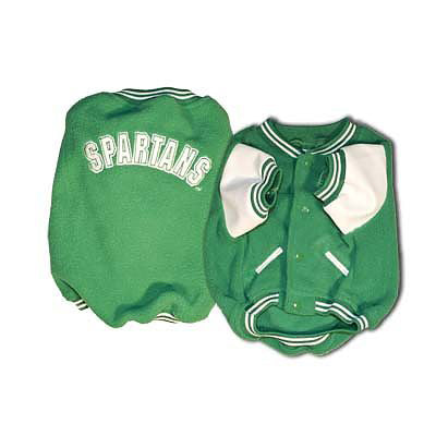 Michigan State Spartans Dog Varsity Jacket
