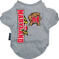 Maryland Terrapins Dog Tee Shirt