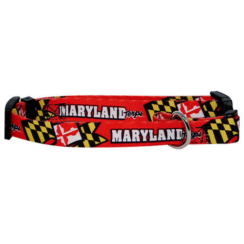 Maryland Terrapins Dog Collar