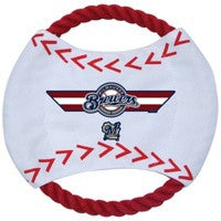 Milwaukee Brewers Dog Frisbee