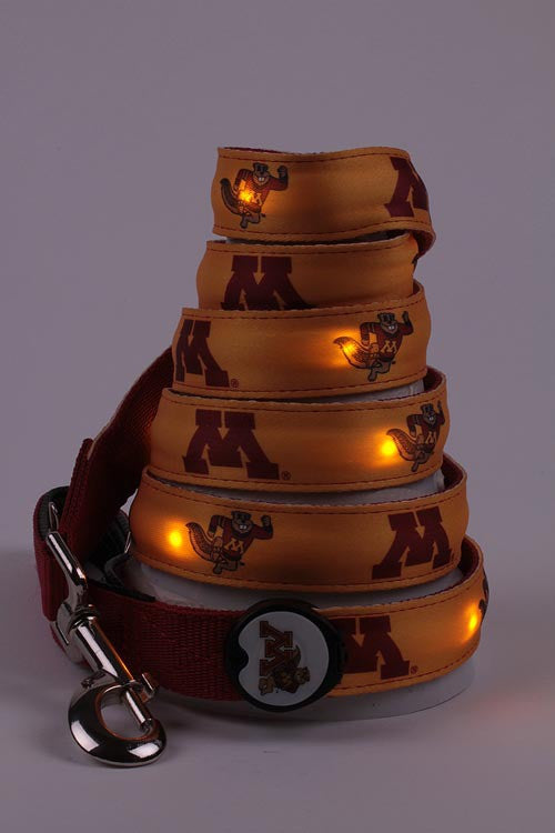 Minnesota Dog E Glow Leash