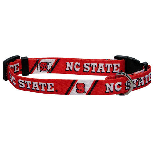 North Carolina NC State Wolfpack Dog Collar