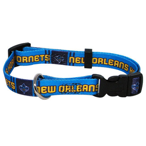 Vintage New Orleans Hornets Dog Collar