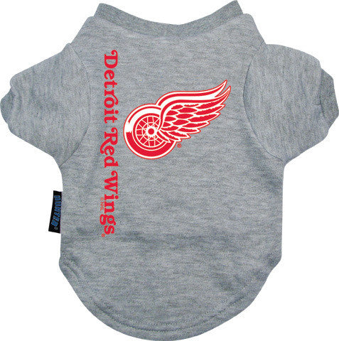 Detroit Red Wings Dog Tee Shirt