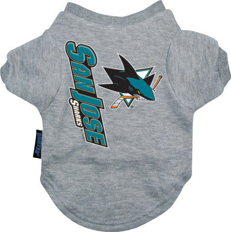 San Jose Sharks Dog Tee Shirt