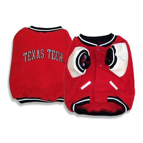 Texas Tech Red Raiders Dog Varsity Jacket