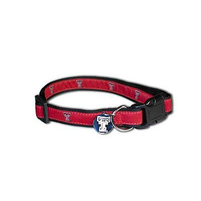 Texas Tech Red Raiders Dog Collar-Ribbon