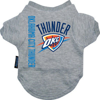 Oklahoma City Thunder Dog Tee Shirt