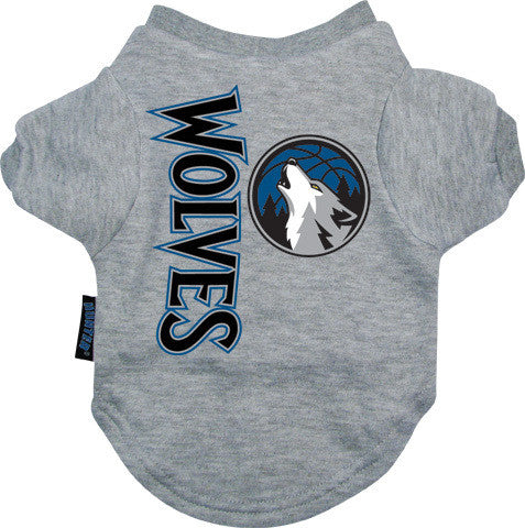 Minnesota Timberwolves Dog Tee Shirt