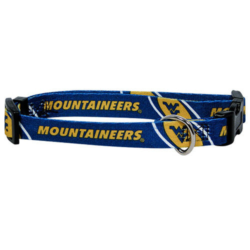 West Virginia Mountaineers Dog Collar