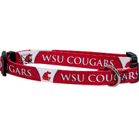 Washington State Cougars Dog Collar