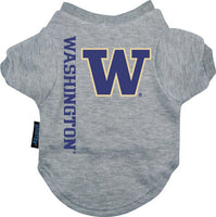 Washington Huskies Dog Tee Shirt