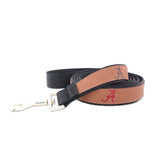 Alabama Leather Dog Leash